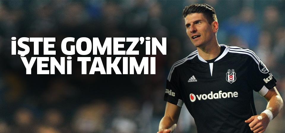 Mario Gomez'in yeni takımı belli oldu!