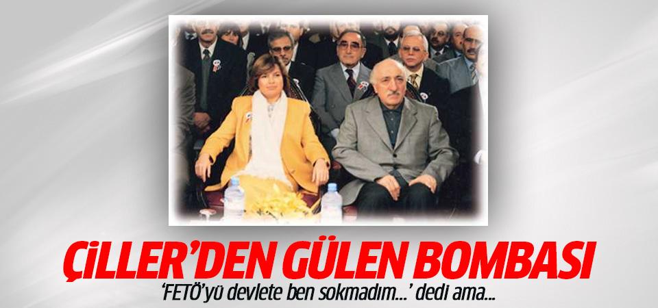 Tansu Çiller'den Fethullah Gülen açıklaması: FETÖ'yü devlete ben sokmadım