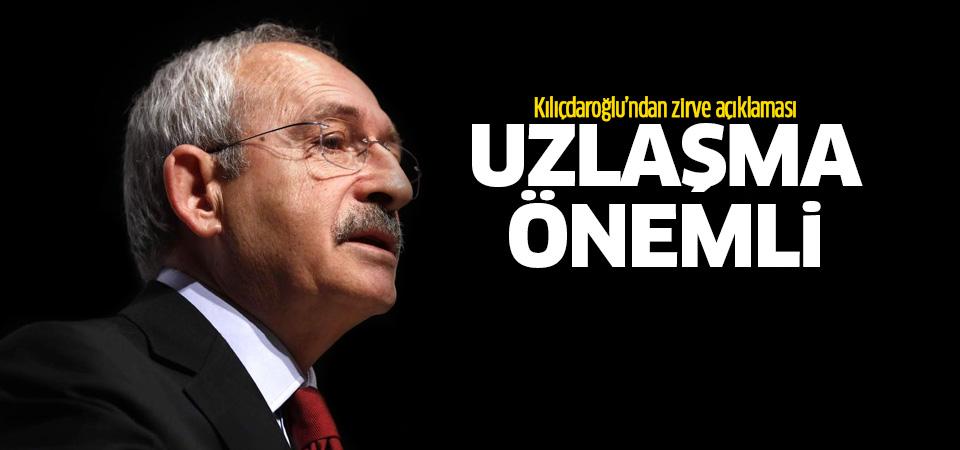 Kılıçdaroğlu: Demokrasilerde uzlaşma önemli
