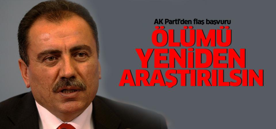 AK Parti'den flaş başvuru: Tekrar araştırılsın!