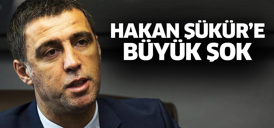 Galatasaray Hakan Şükür'ü disipline sevk etti