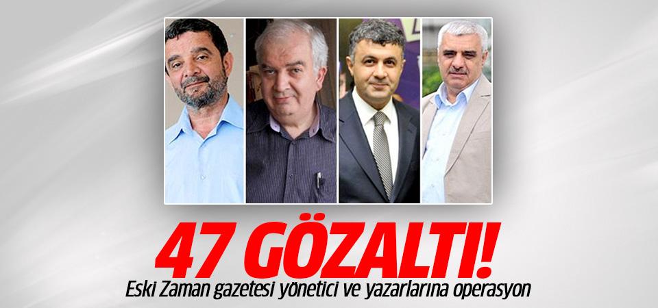 Zaman gazetesi'nin eski ekibine operasyon: Şahin Alpay gözaltına alındı