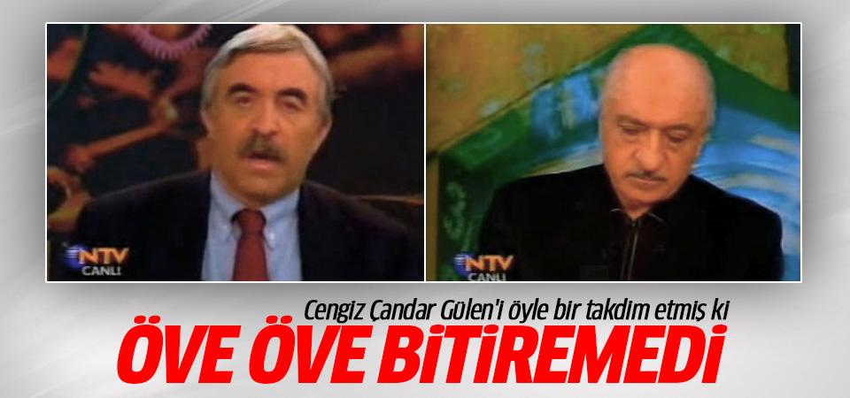 Cengiz Çandar Fethullah Gülen'i öve öve bitiremedi!