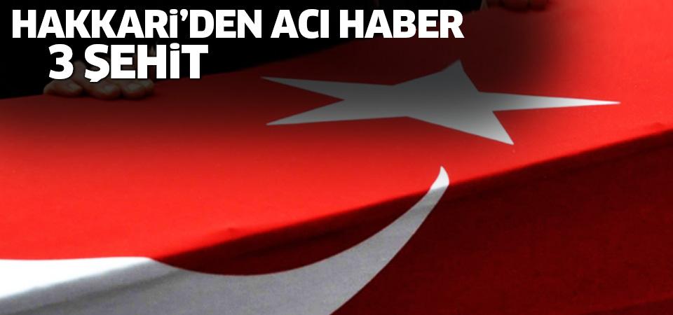 Hakkari'de polis noktasına bombalı saldırı: 3 Şehit