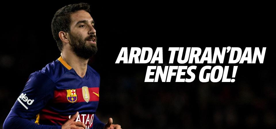 Arda Turan'dan Celtic'e muazzam gol!