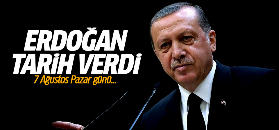 Erdoğan açıkladı: Demokrasi nöbetleri 7 Ağustos'ta sona erecek