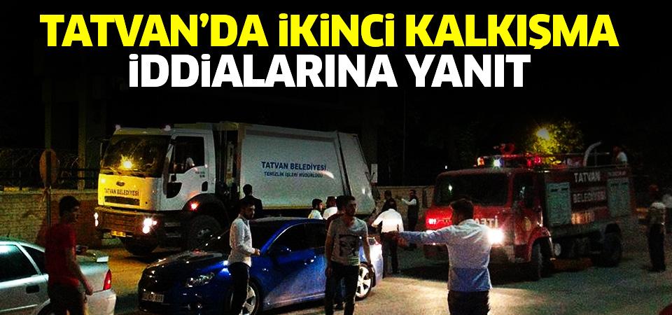 Tatvan'da ikinci darbe kalkışması iddialarına Vali Çınar'dan açıklama