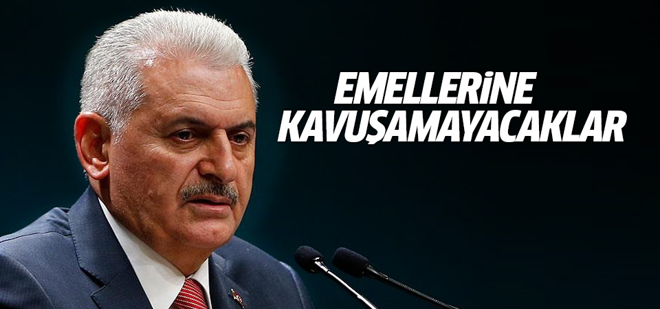 Yıldırım: Türkiye'nin bütünlüğüne pusu kuranlar emellerine kavuşamayacak