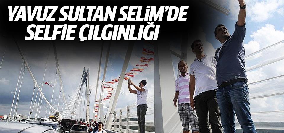 Yavuz Sultan Selim Köprüsü'ne vatandaşlardan yoğun ilgi
