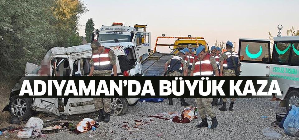 Adıyaman'da büyük kaza: 7 ölü