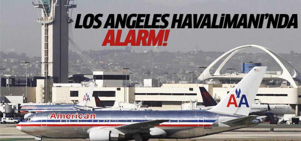 Los Angeles Havalimanı boşaltılıyor