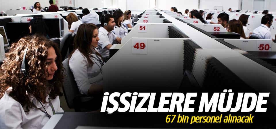 İşsizlere müjde: 67 bin 504 personel alınacak