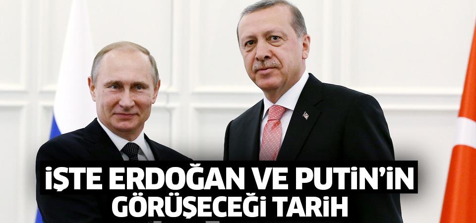 Kremlin'den flaş açıklama! Putin Erdoğan'la...
