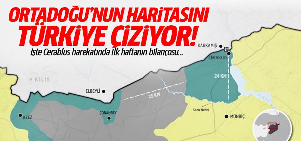 Ortadoğu'nun haritasını Türkiye çiziyor