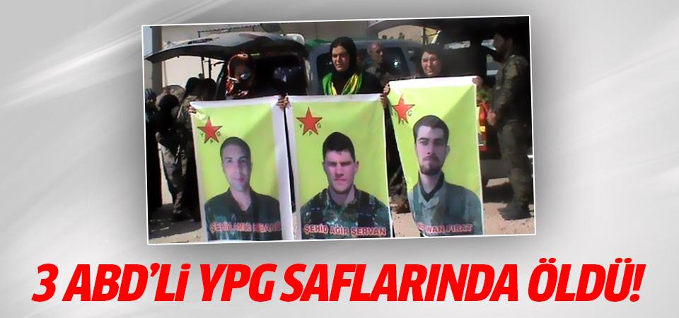 3 ABD'li YPG saflarında öldü!