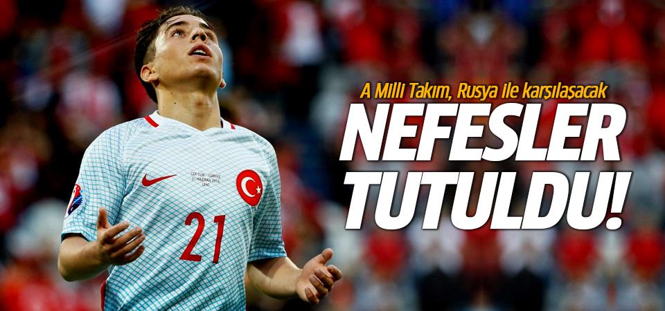 İşte Türkiye - Rusya maçının muhtemel 11'ler