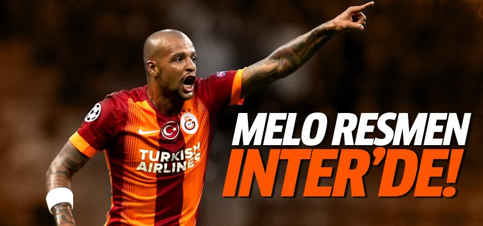 Felipe Melo resmen Inter'de!