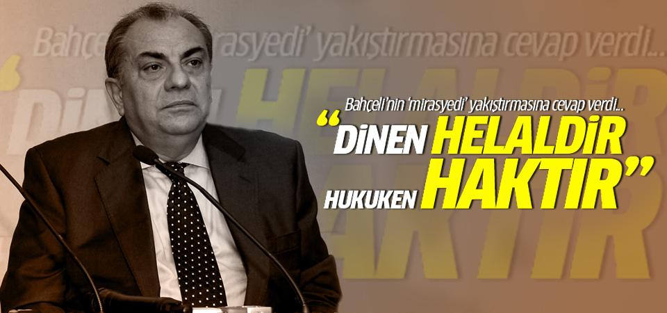 Tuğrul Türkeş'ten Bahçeli'ye 'mirasyedi' tepkisi!