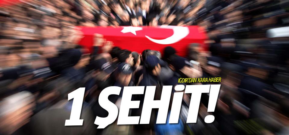 Iğdır'daki yaralı polis şehit oldu!