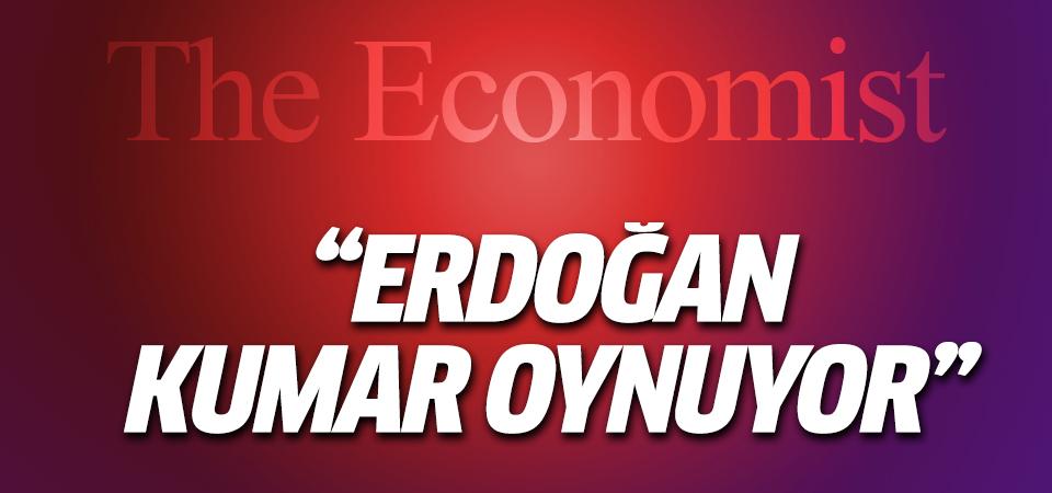 The Economist: Erdoğan kumar oynuyor