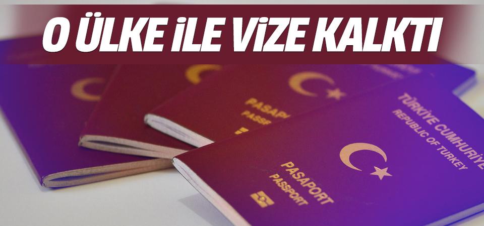 Kenya'ya vize kaldırıldı