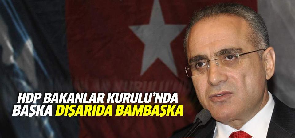 Topçu, Bakanlar Kurulu'ndaki HDP'lileri değerlendirdi