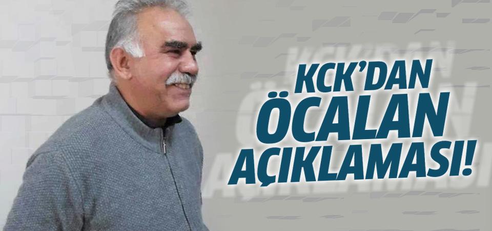 KCK'dan İmralı açıklaması