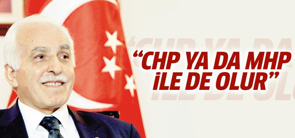 Mustafa Kamalak: CHP ve MHP ile de ittifak olabilir