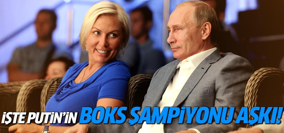 İşte Putin'in boks şampiyonu yeni sevgilisi!