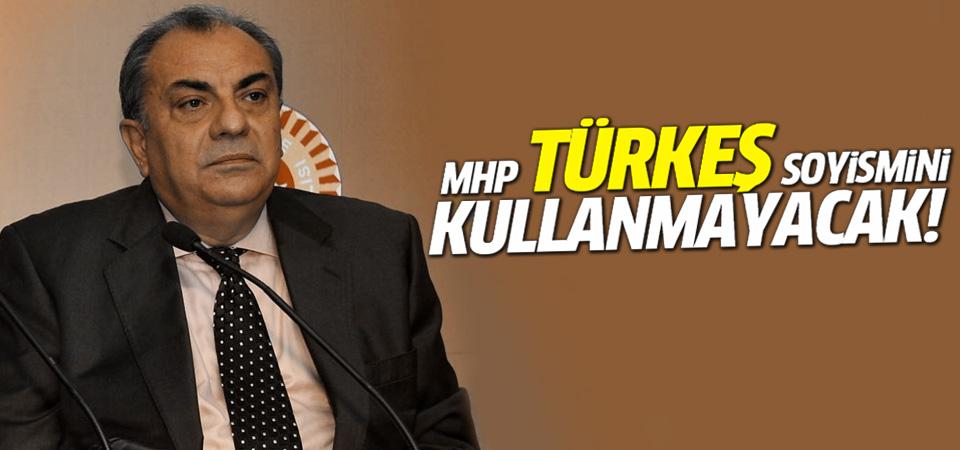 MHP'liler Türkeş soyismini kullanmayacak!