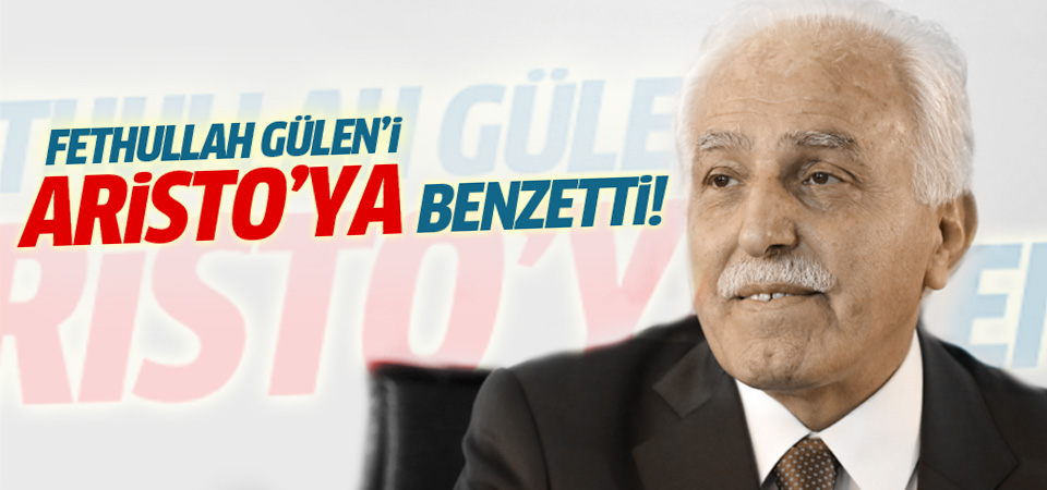 Mustafa Kamalak'tan Fethullah Gülen'e Aristo benzetmesi!