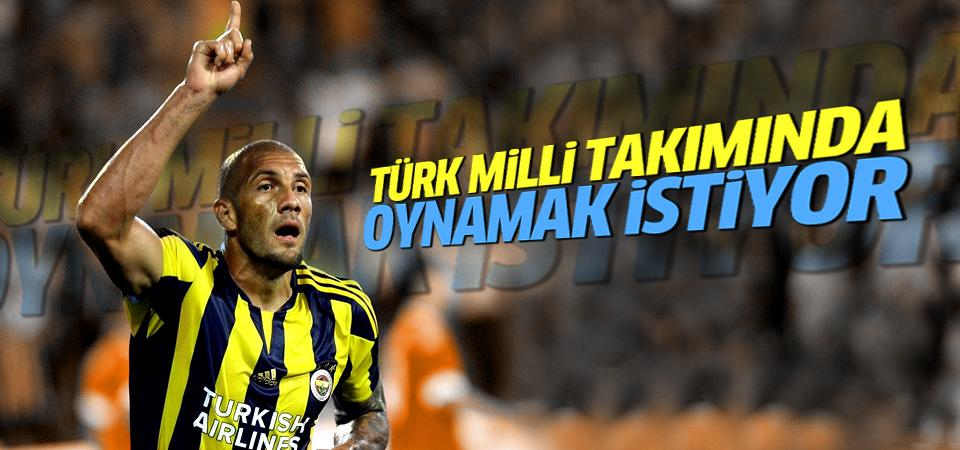 Fernando Türk Milli Takımı'nda oynamak istiyor!
