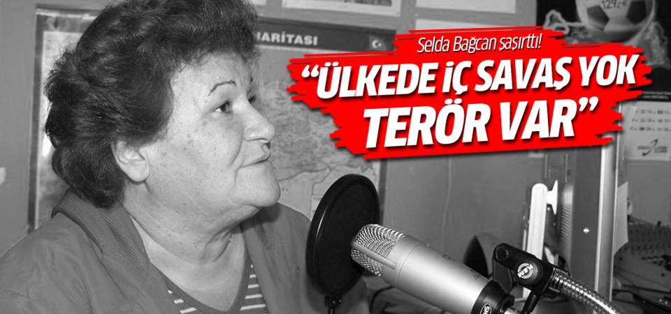 Selda Bağcan: Ülkede iç savaş yok terör var