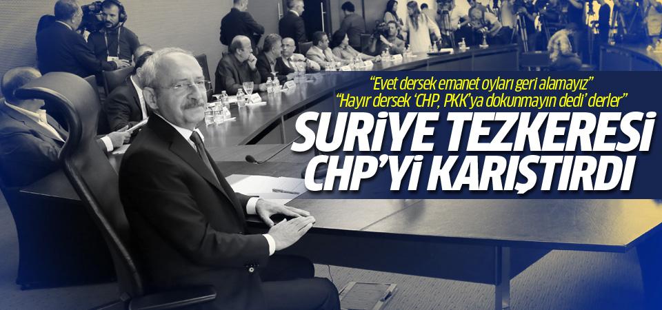 CHP'nin tezkere kararı partiyi karıştırdı