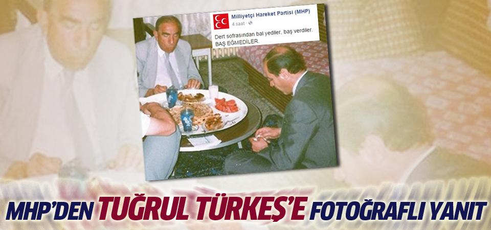 MHP'den Türkeş'e fotoğraflı cevap!