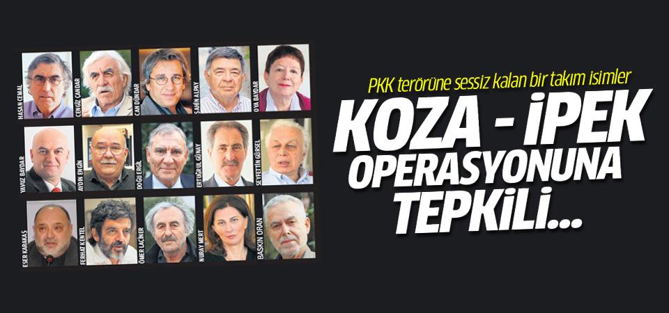 Can Dündar vb isimler Koza - İpek operasyonunu kınadı