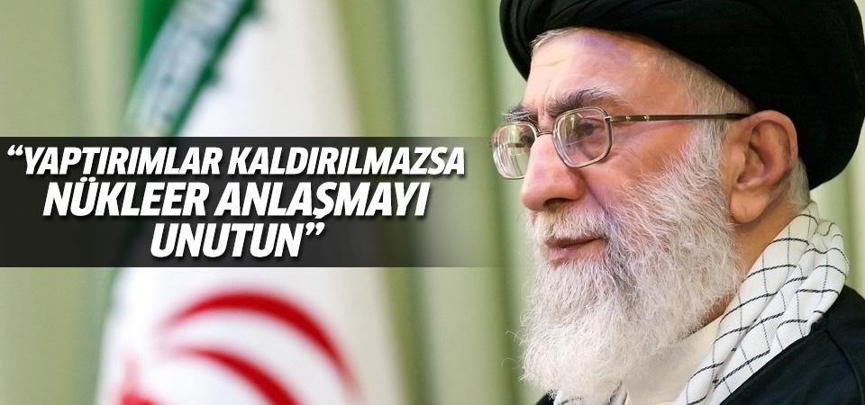 'Yaptırımlar kaldırılmazsa anlaşma uygulanmaz'