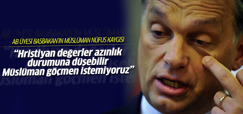 Macar Başbakan'ın müslüman nüfus kaygısı
