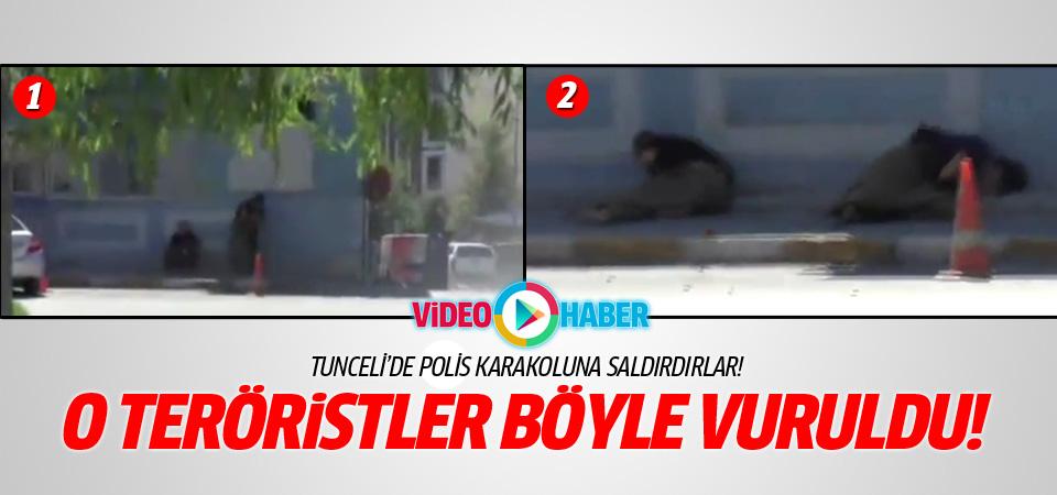 PKK Tunceli'de polis karakoluna saldırdı!