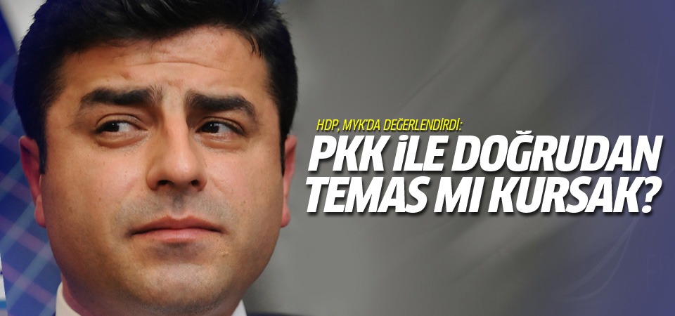 HDP PKK ile doğrudan temas kursun önerisi!