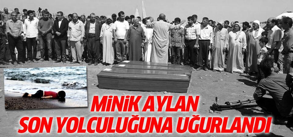 Aylan Kurdi son yolculuğuna uğurlandı