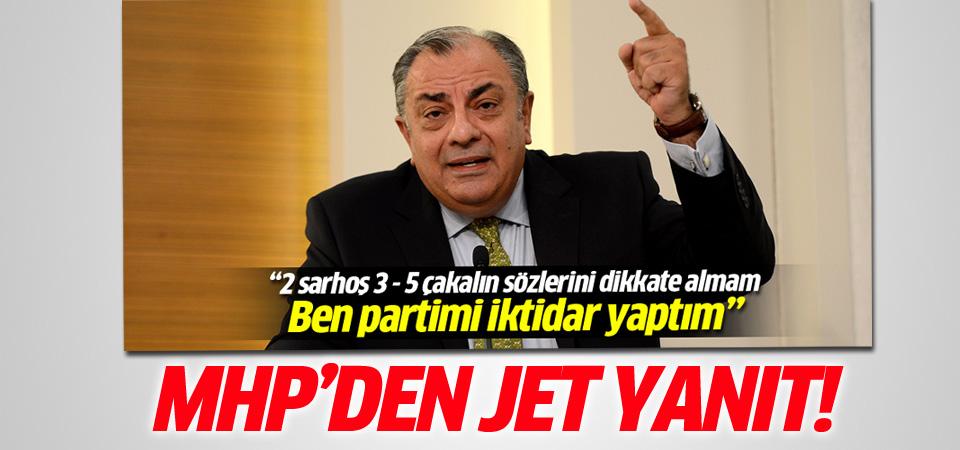 MHP'den Türkeş'e yanıt geldi: Muhatap almıyoruz
