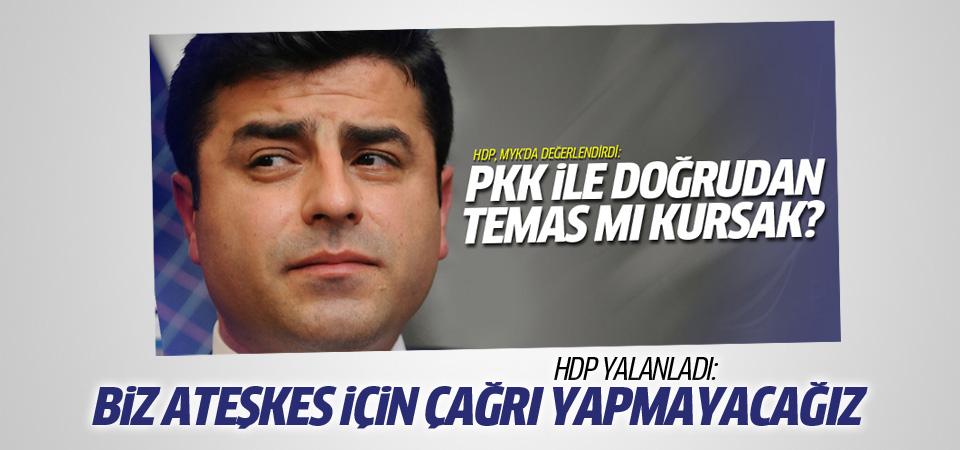 HDP PKK'ya çağrı yapılacak haberini yalanladı