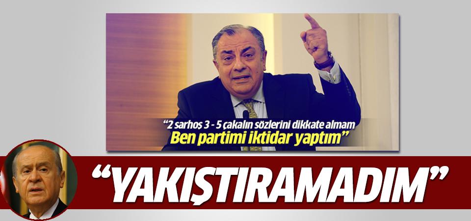 Devlet Bahçeli'den Türkeş'e yanıt