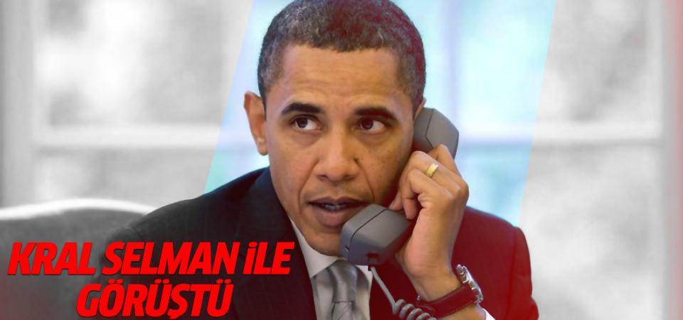 Obama, Kral Selman ile görüştü