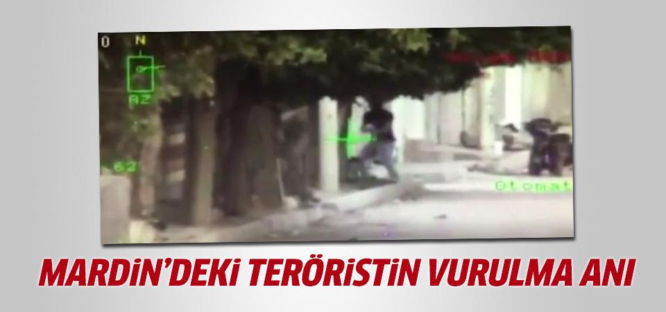 Mardin'de polise ateş açan terörist böyle vuruldu