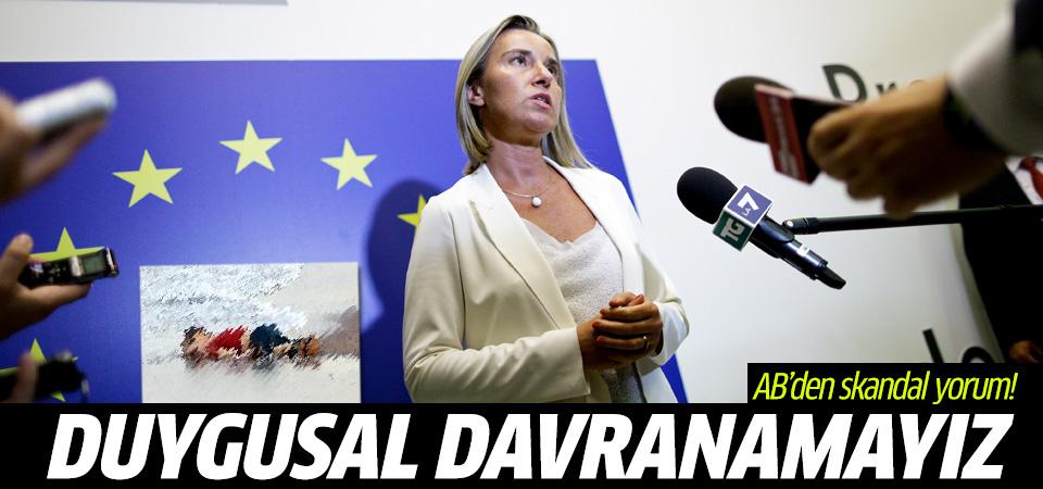 Avrupalı liderlerden Mogherini'den skandal Aylan yorumu!