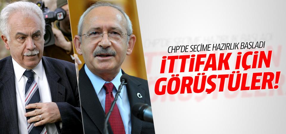 Kemal Kılıçdaroğlu ile Doğu Perinçek ittifak arayışında