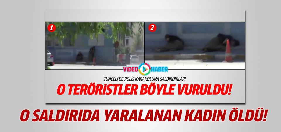 Tunceli'deki terör saldırısında yaralanan kadın öldü