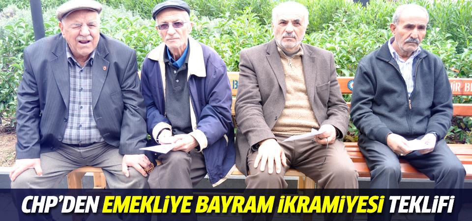 CHP'den 'emekliye bayram ikramiyesi' teklifi